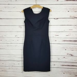 The Limited Career Dress Navy Size 4 Tall